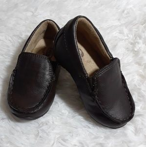 The Children's Place Leather Baby Loafers- Size 5